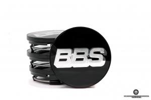 BBS dekielek (srebrne logo / czarne tło)