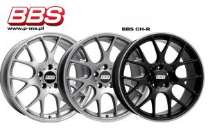 """Komplet felg BBS CH-R 8x18"""" + 9x18""""/ BMW serii 1 (F20,F21)"""