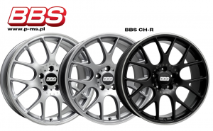 """Komplet felg BBS CH-R 8,5x19"""" + 9,5x19""""/ BMW serii 1 (F20,F21)"""