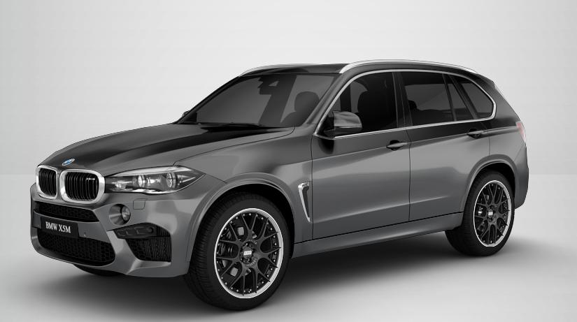 "Komplet felg BBS CH-R II 10x21"" + 11,5x21""/ BMW X5 M (F85, E70)"